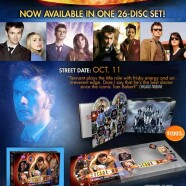 """Collectible """"Doctor Who – Complete David Tennant Years"""" DVD Set"""