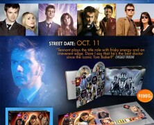 "Collectible ""Doctor Who – Complete David Tennant Years"" DVD Set"