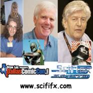 SciFiFX Podcast #55 – Peter Mayhew, Jeremy Bulloch & David Prowse – Dallas Comic Con 2012