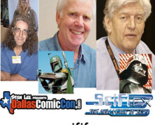 SciFiFX Podcast #55 – Peter Mayhew, Jeremy Bulloch & David Prowse – Dallas Comic Con 2012
