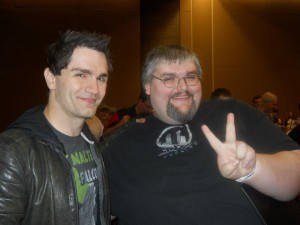 Sam Witwer & Big Dog