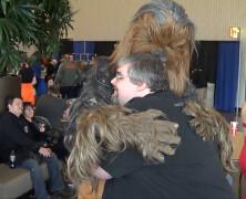 Hug a Wookiee!