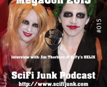 SciFi Junk – MegaCon 2015 and Jim Thorburn of SyFy's HELIX