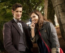 The Eleventh Doctor and his new Companion