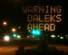 Warning Daleks Ahead